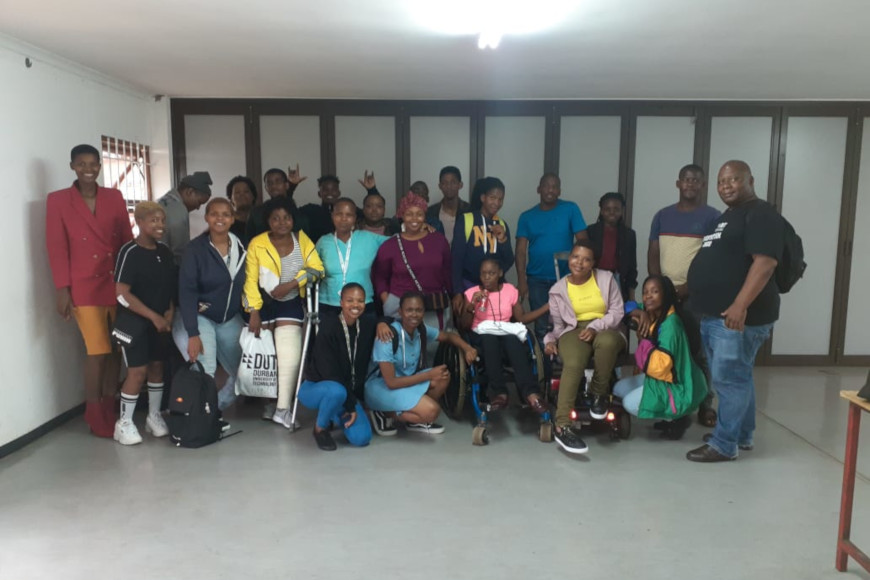 DUT HOSTS THE FIRST DISABILITY RIGHTS ORIENTATION FOR FIRST YEAR STUDENTS