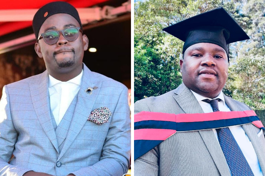 TWO DUT CONVOCATION MEMBERS WILL MAKE 'EDUCATION FASHIONABLE' WHEN THEY GRADUATE AGAIN IN 2020