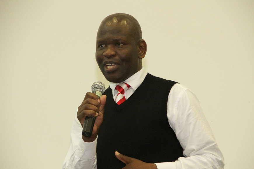 DUT'S DR SHONHIWA IS APPOINTED AS THE VOICE AND FACE OF SOCIAL COHESION