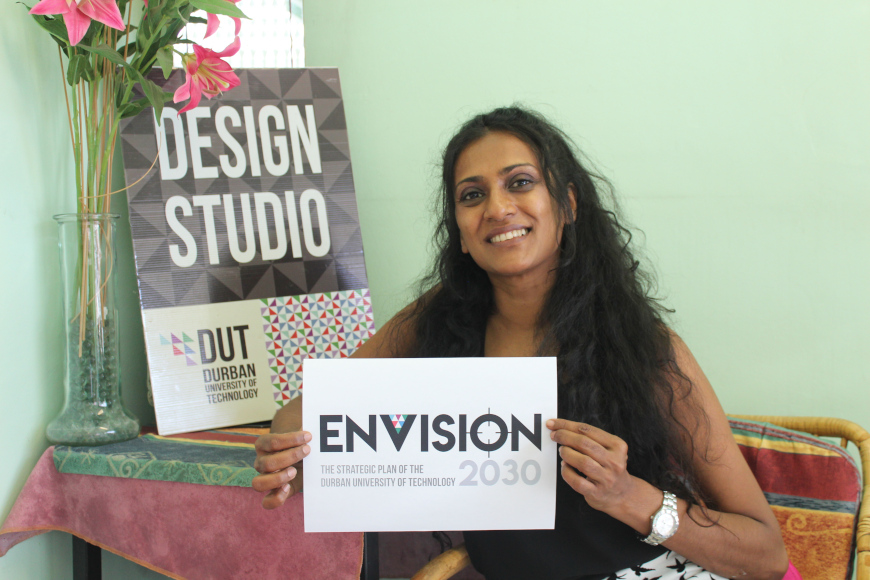 DUT'S FIONA PILLAY WINS R20 000 FOR NAMING NEW 2020-2030 STRATEGY PLAN CALLED: JUST ENVISION 2030