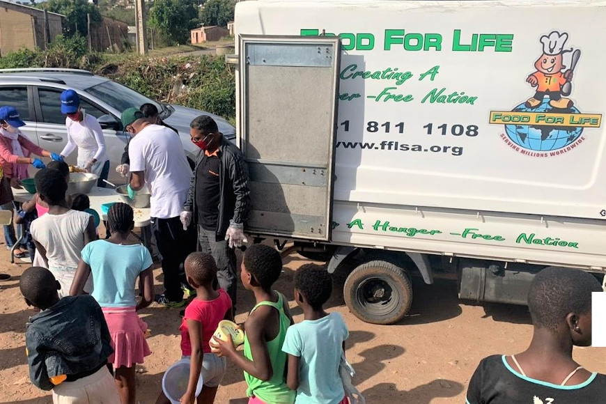 DUT GOLDEN KEY GIVES BACK TO THE YOUTH