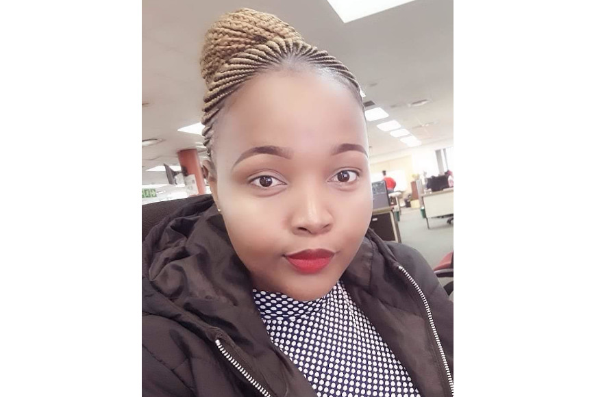 NEWSPAPER JOURNALIST IS THE FIRST OF HER NINE SIBLINGS TO ACHIEVE A TERTIARY QUALIFICATION