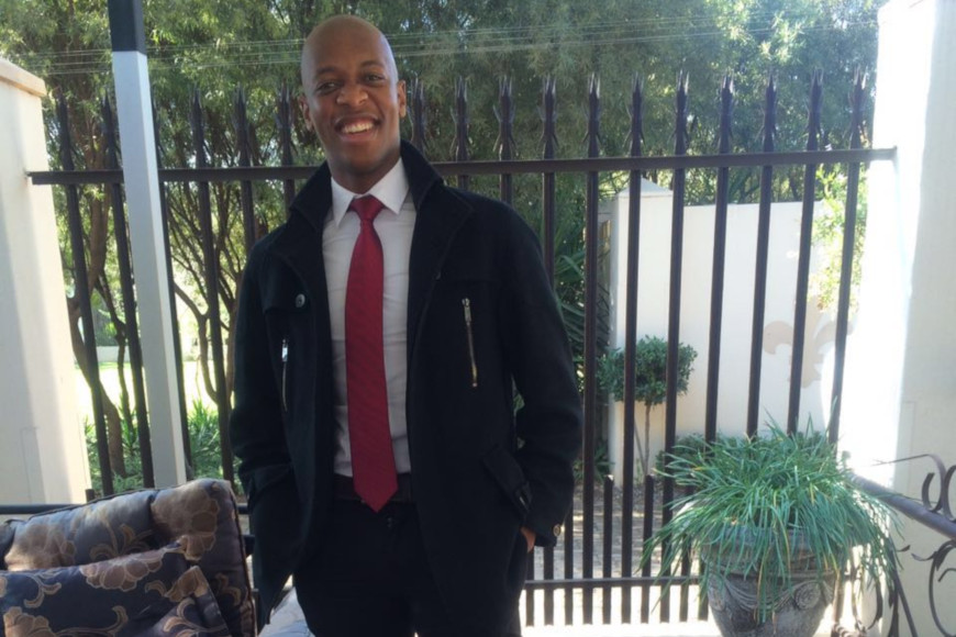 DUT'S NDLOVU IS SELECTED FOR THE MICROSOFT IMAGINE CUP FINAL SUMMIT IN AMSTERDAM