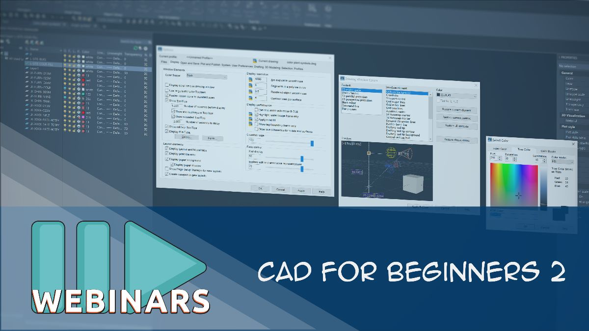 RECORDED WEBINAR: CAD for Beginners 2