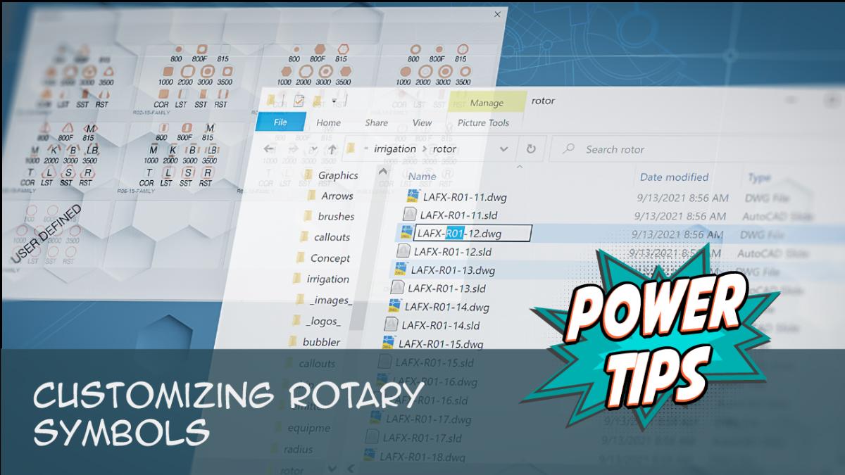 POWER TIP: Customizing Rotary Symbols