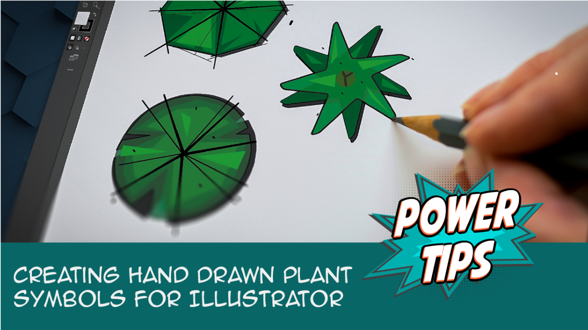 Power Tip: Creating Hand Drawn Plant Symbols for Illustrator