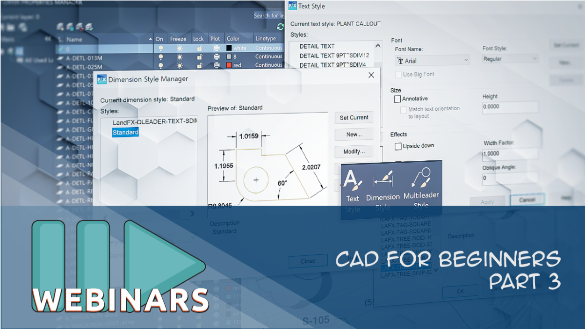 RECORDED WEBINAR: CAD for Beginners Part 3