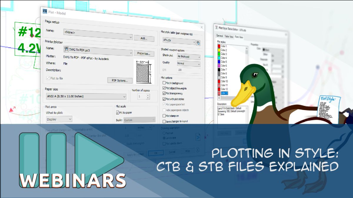 RECORDED WEBINAR: Plotting in Style: CTB & STB Files Explained