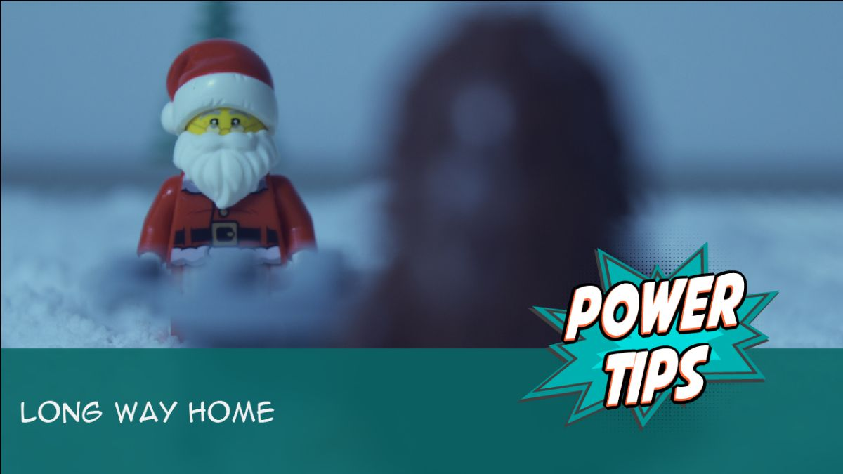 Holiday Power Tip: Long Way Home