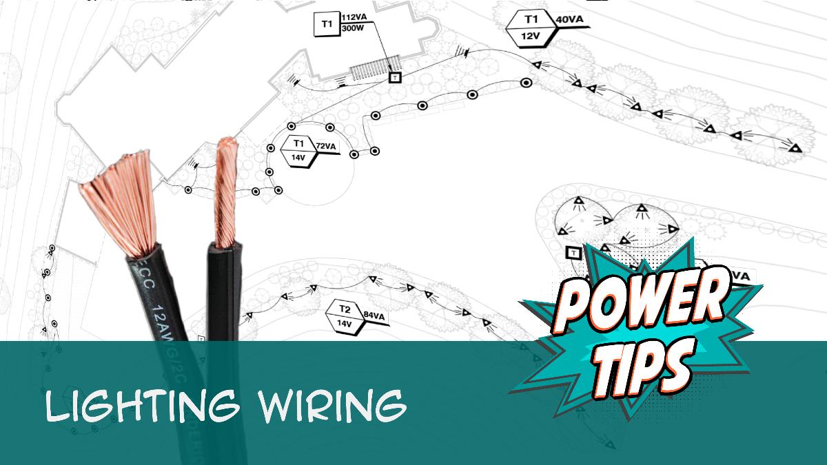 POWER TIP: Lighting Wiring