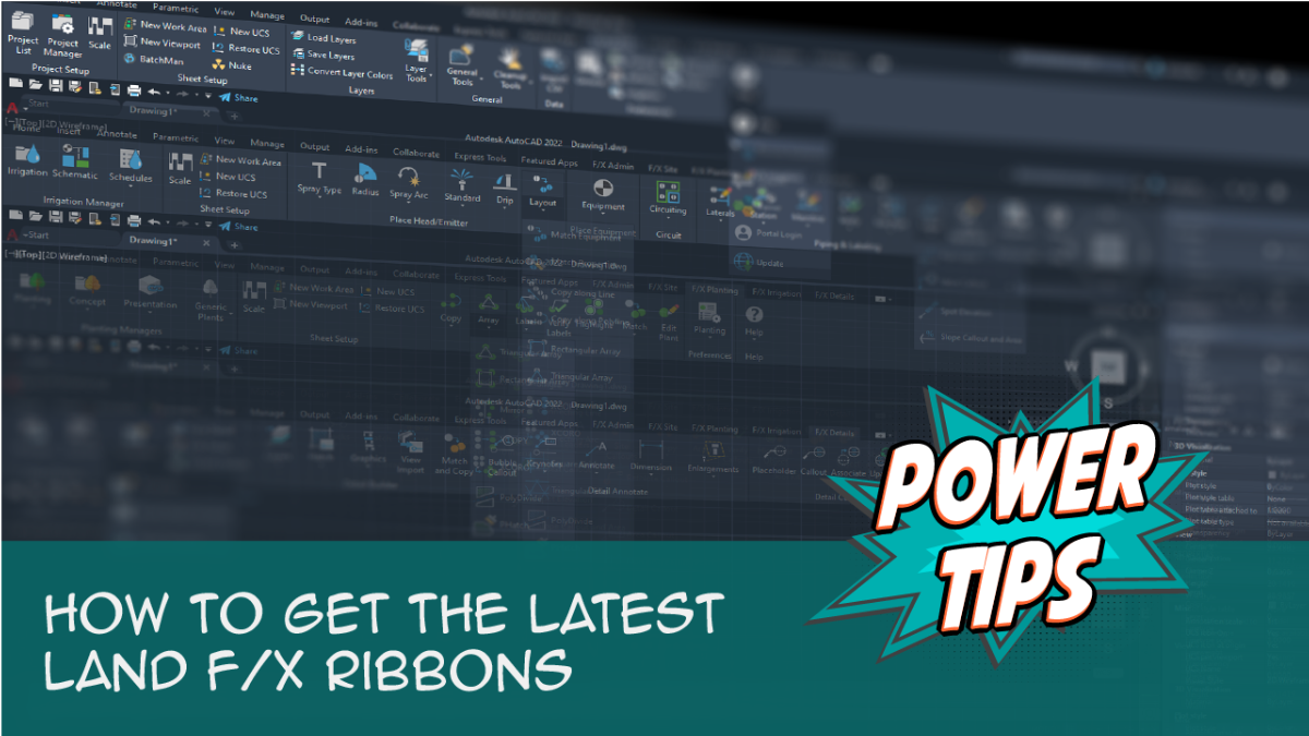 POWER TIP-How to Get The Latest Land F/X Ribbons