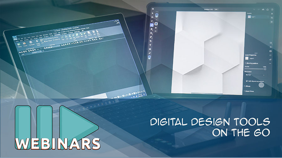 Digital Design Tools on the Go
