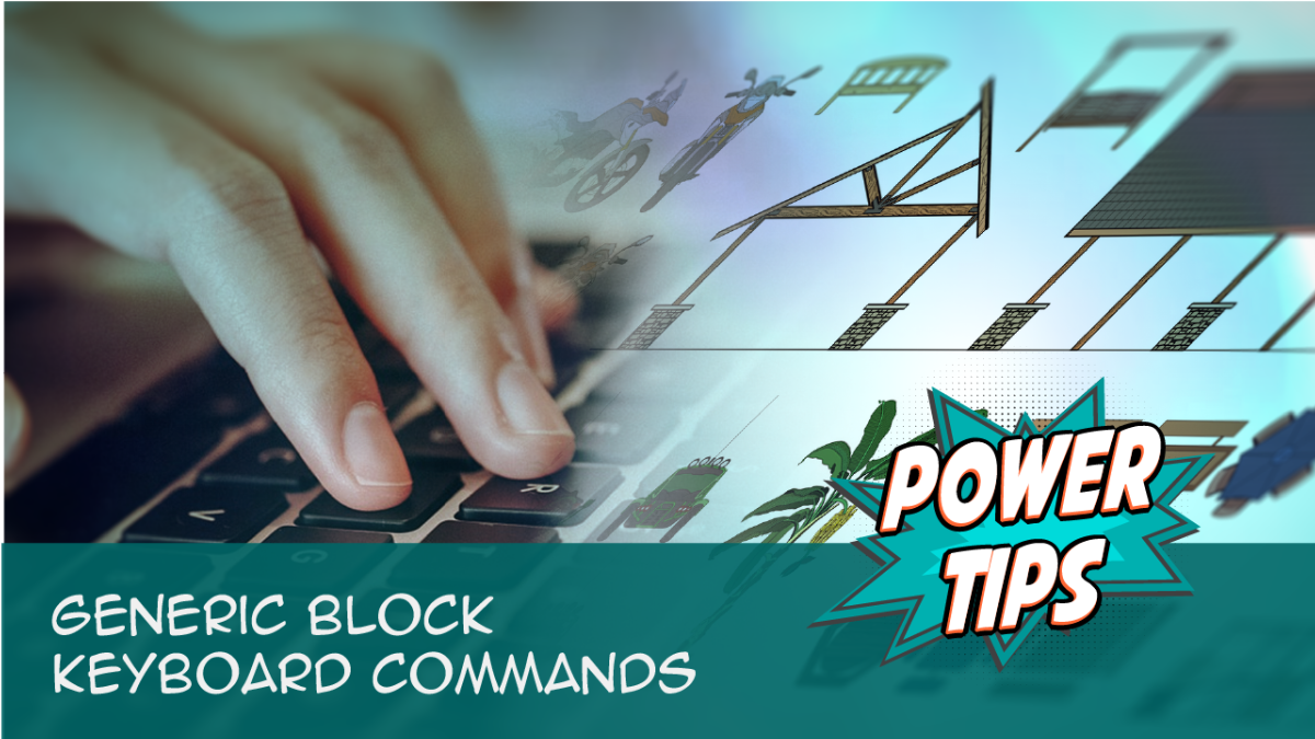 Power Tip: Generic Block Keyboard Commands