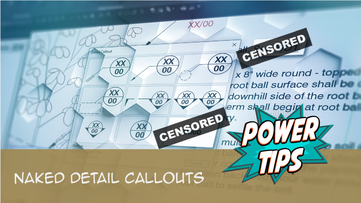 Power Tip: Naked Detail Callouts