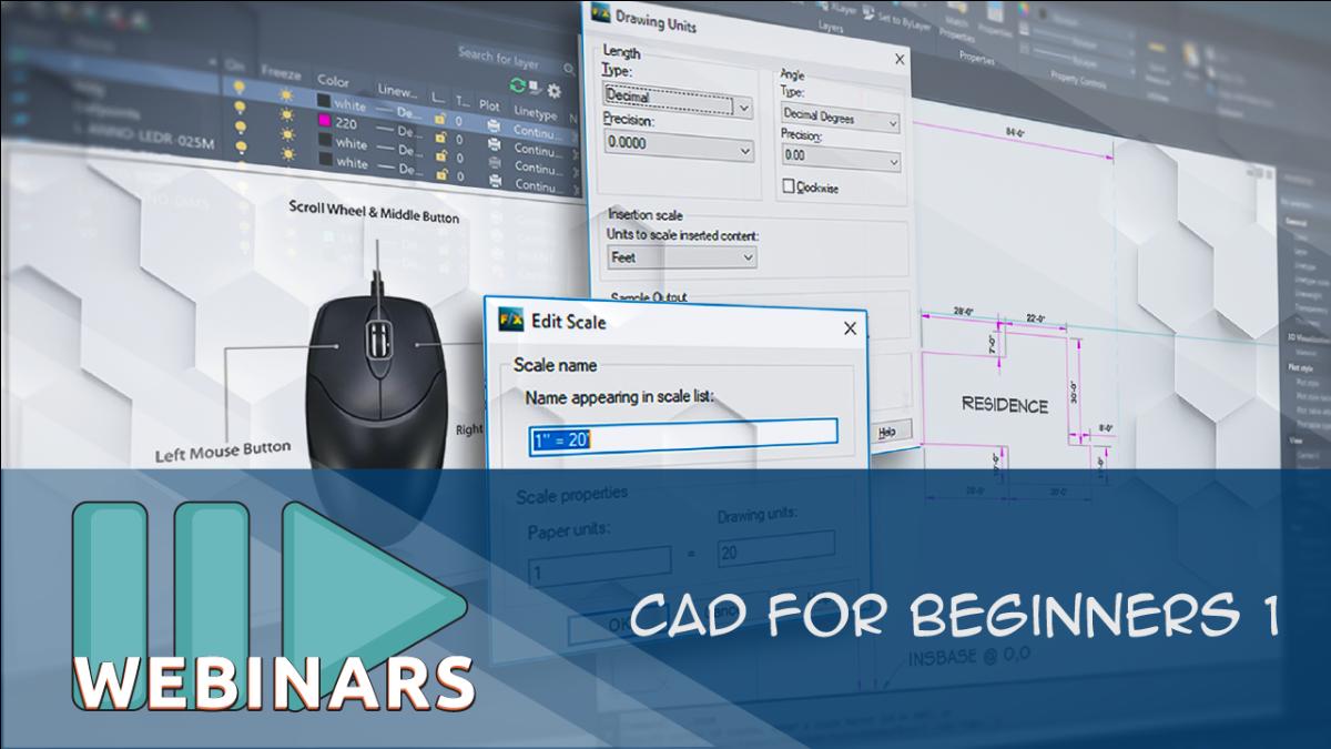 WEBINAR: CAD for Beginners