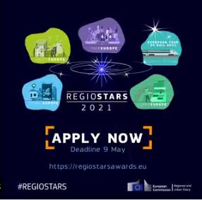 REGIOSTARS 2021 [APPLY NOW] #REGIOSTARS