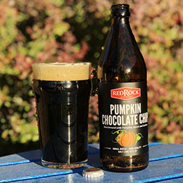 Pumpkin Chocolate Chip Stout | Red Rock Brewery