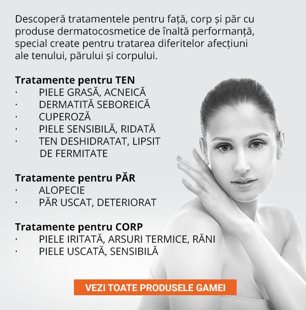 Descoperă toată gama dermatocosmetică Gerovital H3 Derma+