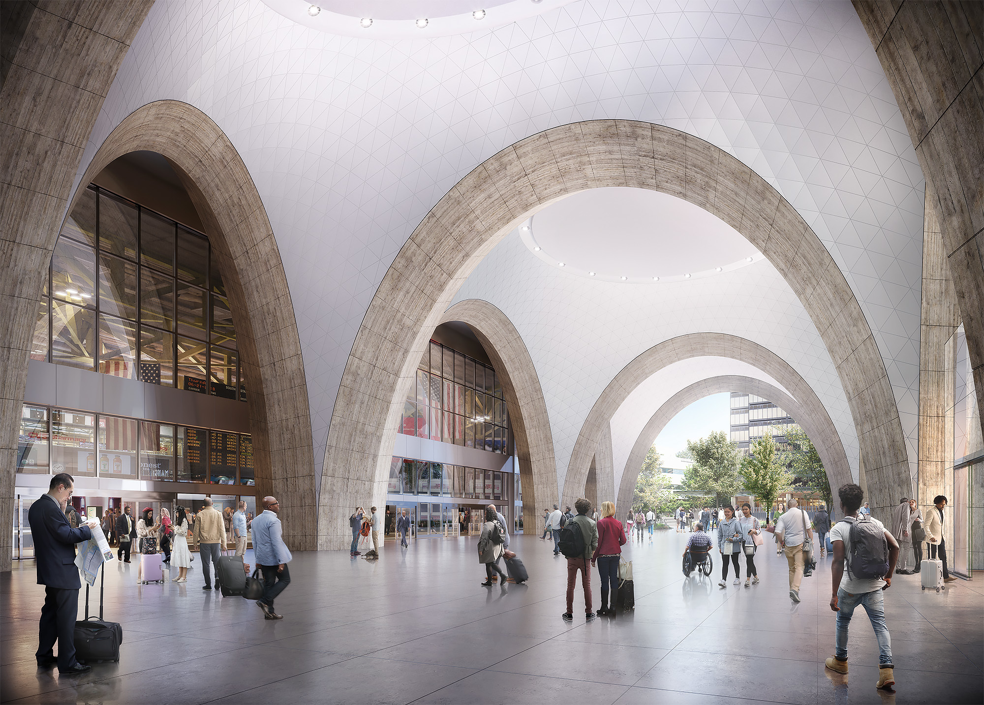 South Station Air Rights Project - Construction Anticipated to Restart on May 18