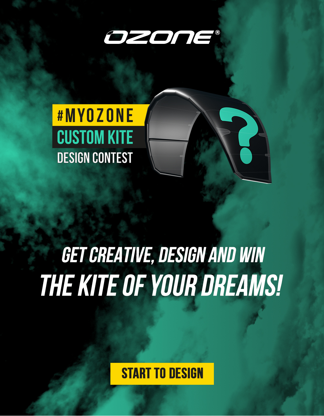 #myOzone Custom Kite Design Contest. Start to design today!