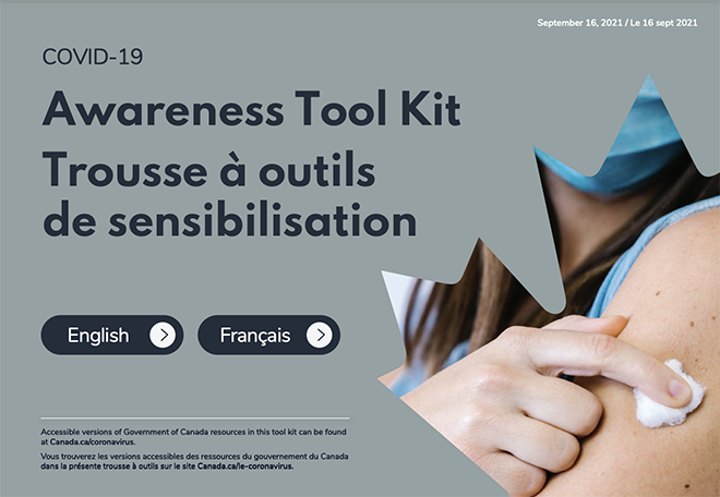 Banner of COVID-19 awareness toolkit
