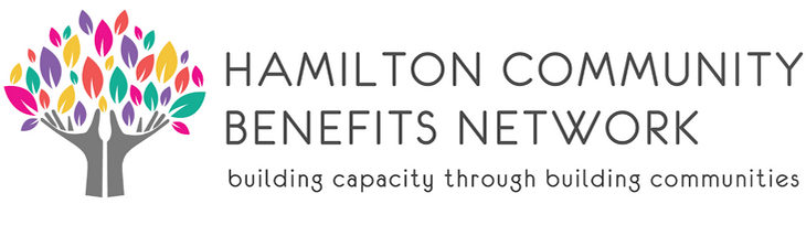 Logo of Hamilton Community Benefits Network