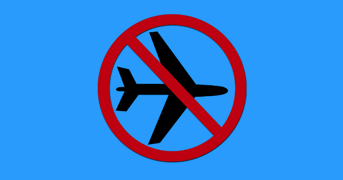 Symbol of No Fly List