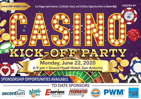 Wrangler's Casino Night Kick-Off Party