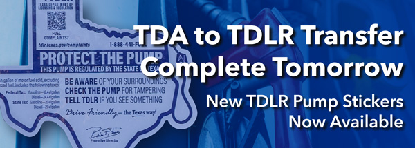 TDA to TDLR Transfer Complete Tomorrow