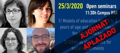 Open seminar IGOP 25/03/20
