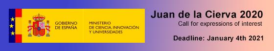 Juan de la Cierva Call 2020