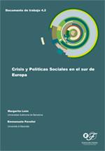 Crisis y políticas sociales en el sur de Europa