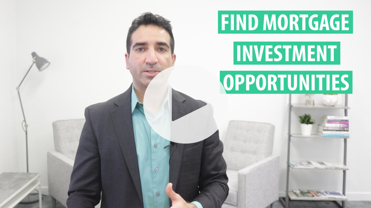 Find Private Mortgage Investments