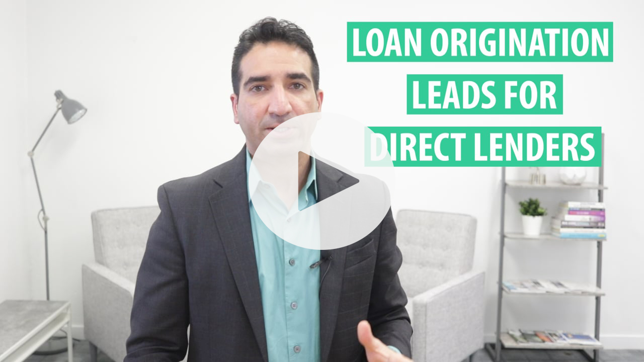 Loan Origination Leads