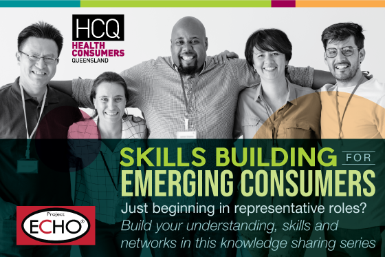 Skills building for emerging consumers. Just beginning in representative roles? Build your understanding, skills and networks in this knowledge sharing series.