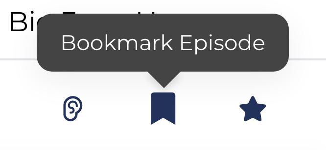 Bookmarks for Podchaser - Like Pocket for podcasts