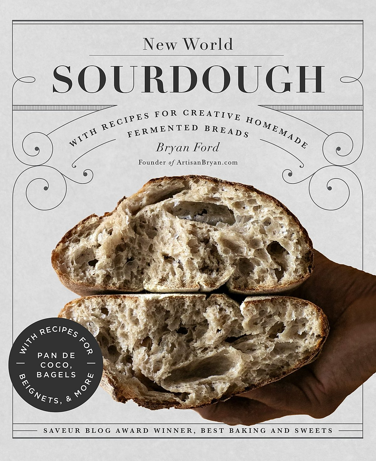 a picture of New World Sourdough, a book by Bryan Ford