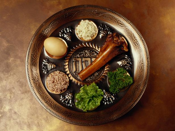 traditional foods of Passover Seder