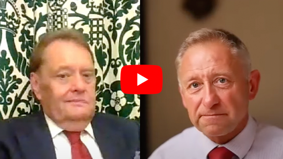 Watch: Sir John Hayes MP interview