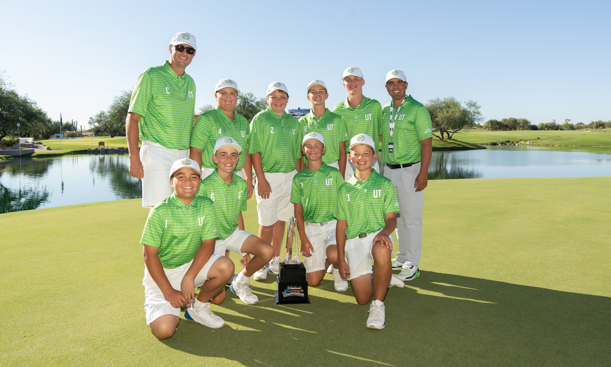 National Car Rental PGA Jr. League Champions Team Utah
