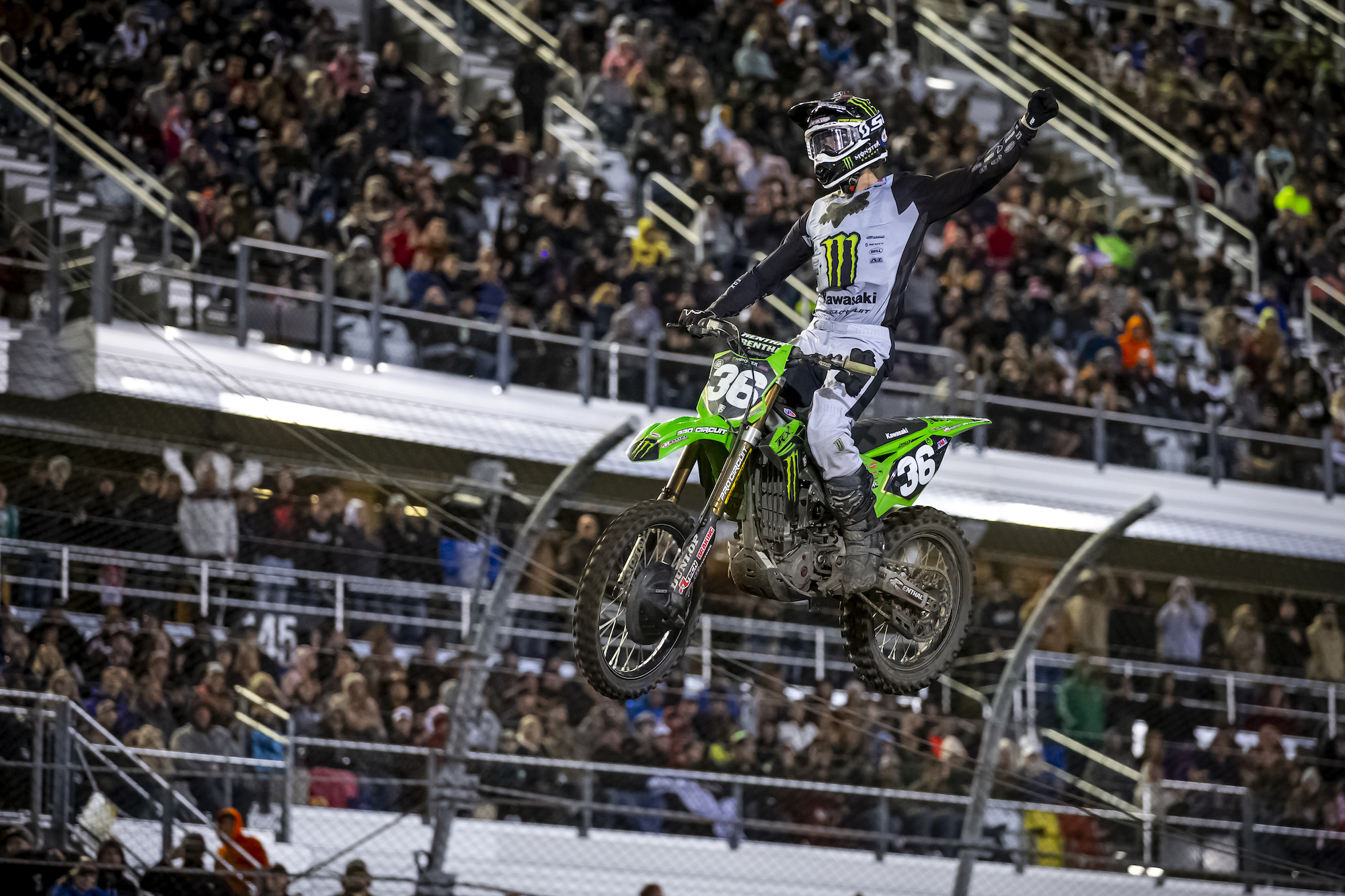 Monster Energy Pro Circuit Kawasaki's Marchbanks Races To First Career Win