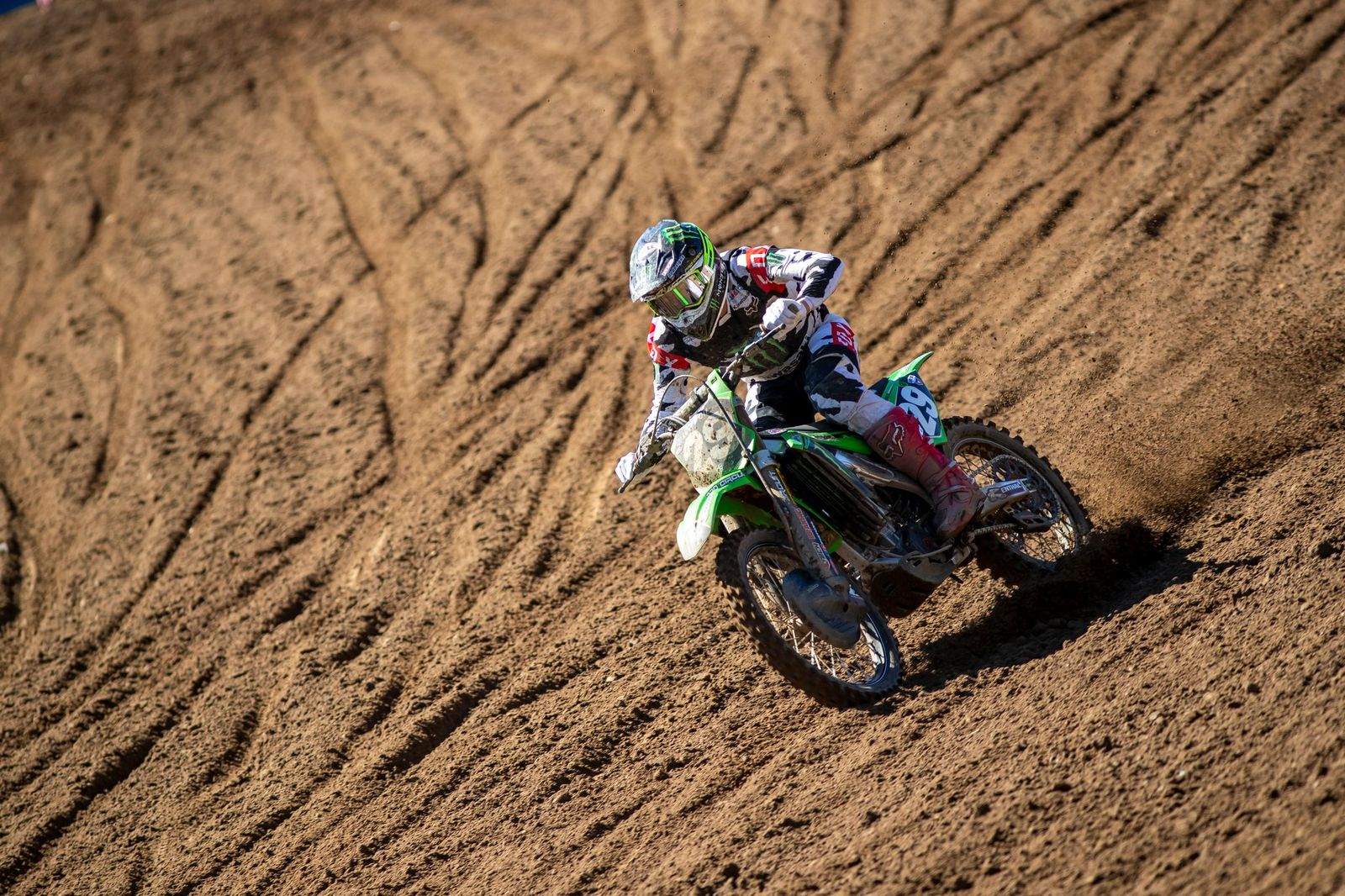Monster Energy Pro Circuit Kawasaki's McAdoo Back in Top-10 At RedBud