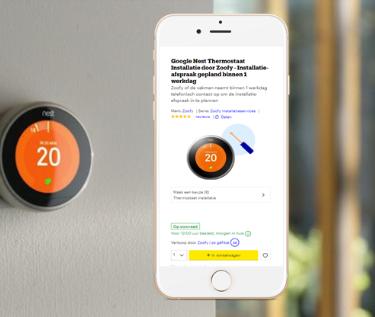 Smart home installatie via Bol.com