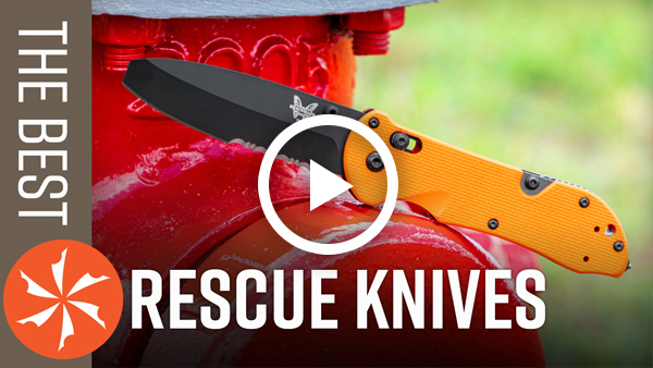 The Best Rescue Knives Video