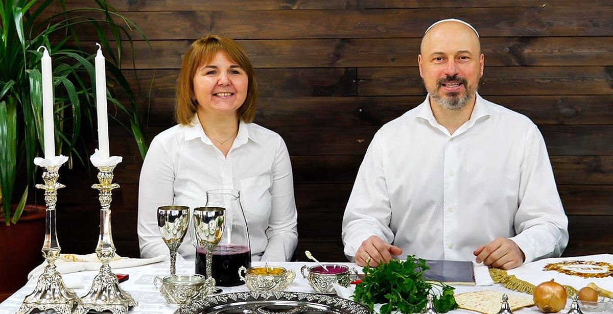 Пасхальный Седер в Одессе с семьей Вассерман