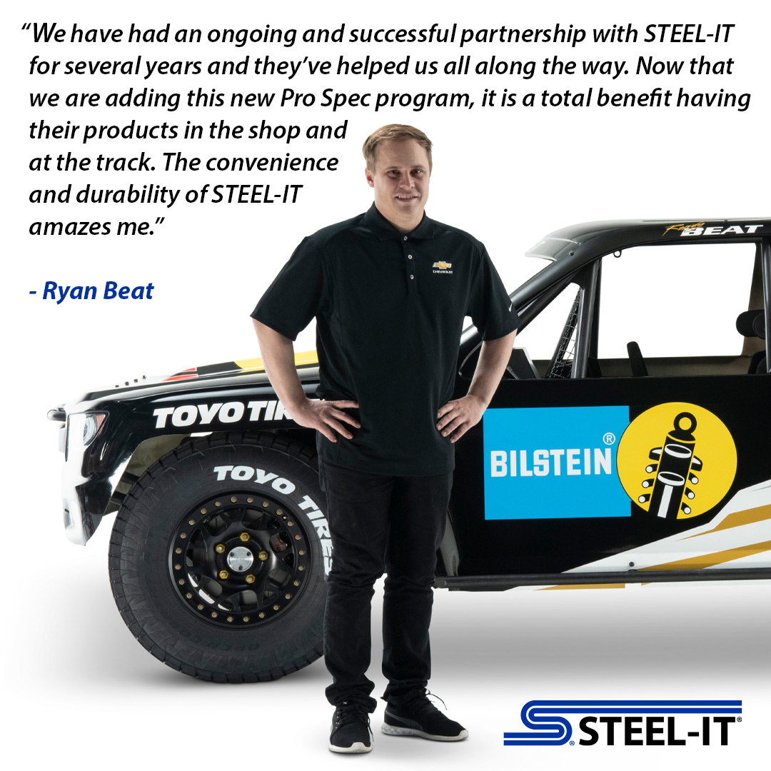 Ryan Beat, Chevrolet Performance, STEEL-IT Coatings, Toyo Tires, Polyurethane Coatings, Motorsports Coatings