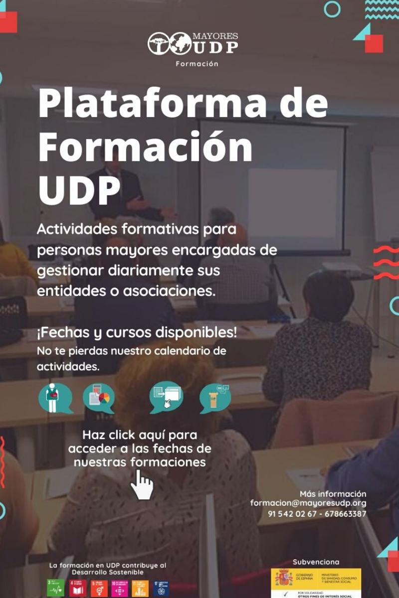 Plataforma de formación UDP