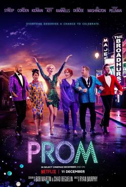 Prom Netflix movie poster