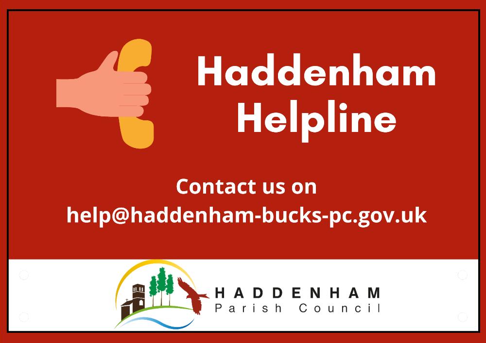 Haddenham Helpline Poster