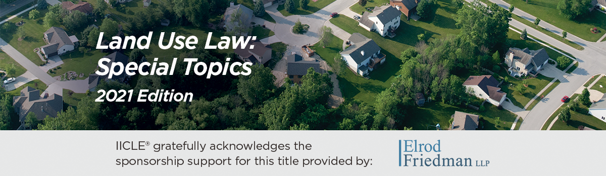 Land Use Law: Special Topics 2021 Edition